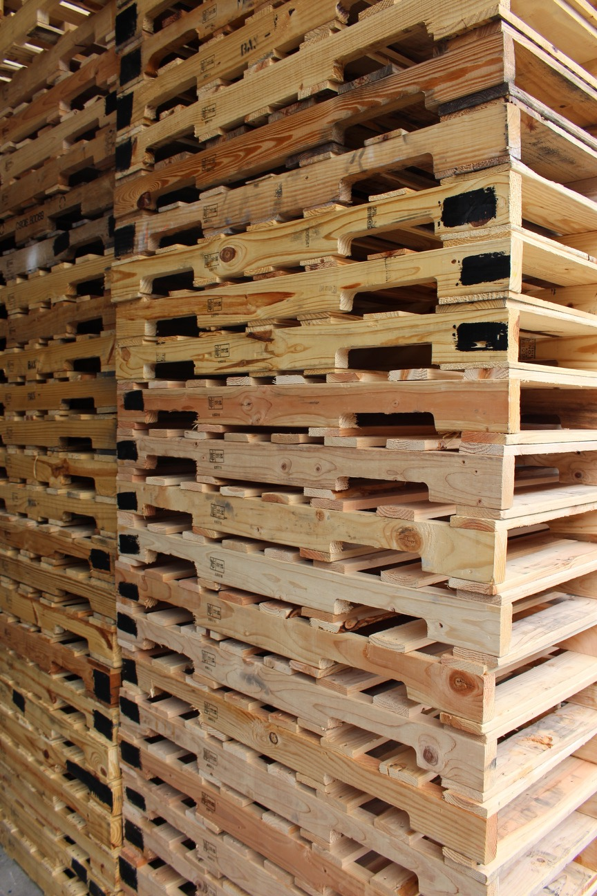 Recycled Wooden Pallets - XCEL Industrial Supplies